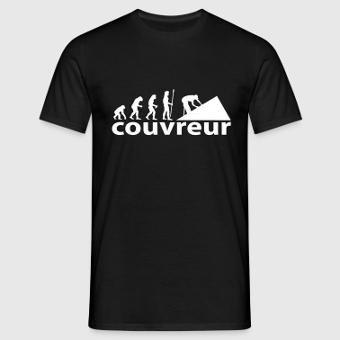 evolution_couvreur - T-shirt Homme
