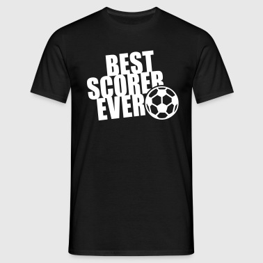 BEST SCORER EVER - Männer T-Shirt