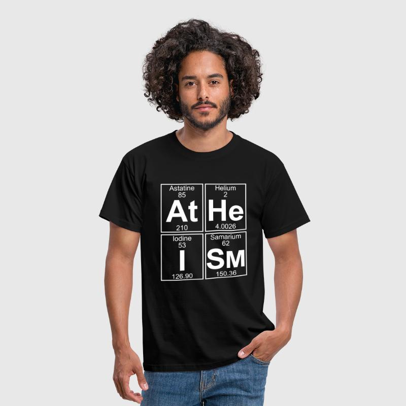 At-He-I-Sm (atheism) - Full - Men's T-Shirt