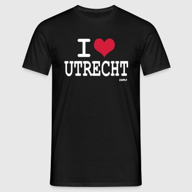 i love utrecht by wam - Mannen T-shirt