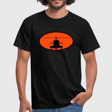 Helicopter logo - Men's T-Shirt