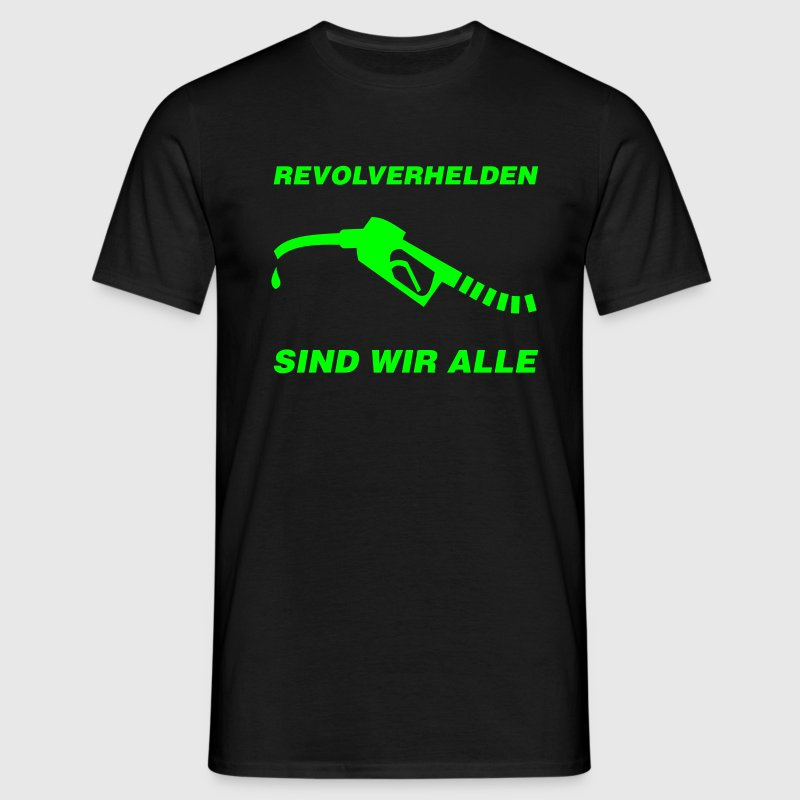 Revolverhelden - T-skjorte for menn