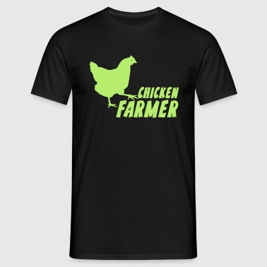 Chicken Farmer Farmer Farmer - Men's T-Shirt
