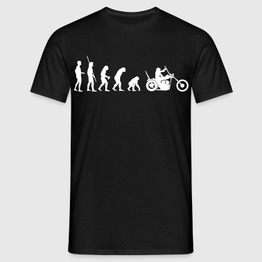 Chopper omvänd evolution  - T-shirt herr
