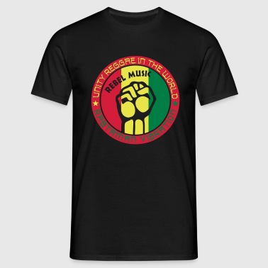 unity reggae in the world - Camiseta hombre