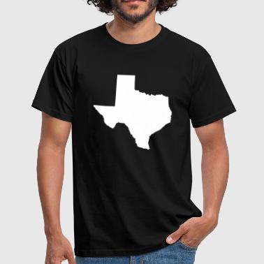 Texas - T-shirt herr