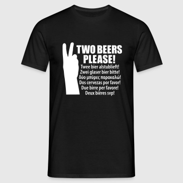 Holiday order beer  - Men's T-Shirt