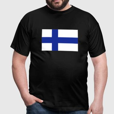 Finnish Flag - Men's T-Shirt