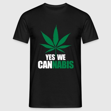 Yes we cannnabis - T-shirt Homme