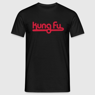 kung fu - Men's T-Shirt