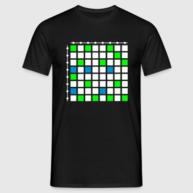 Touch Pads Controller Step Sequencer Drum Computer - Männer T-Shirt