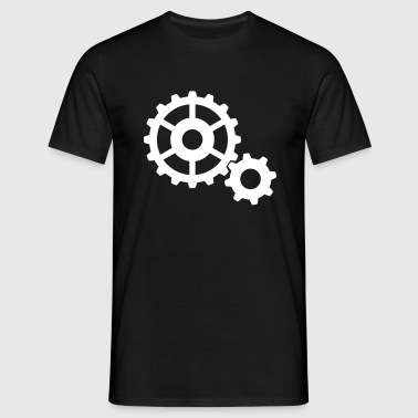gears cogs - Men's T-Shirt