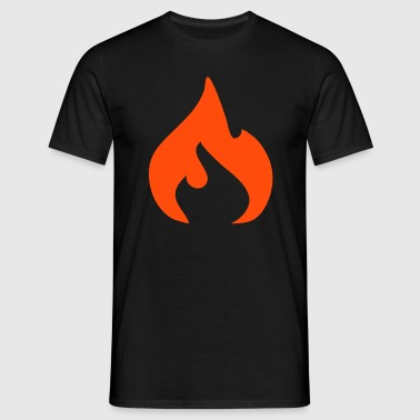 flame - Men's T-Shirt