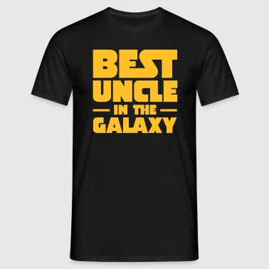 Best Uncle In The Galaxy - Herre-T-shirt