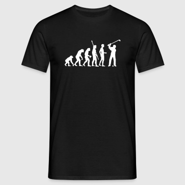 evolution_golf_c_1c - Männer T-Shirt