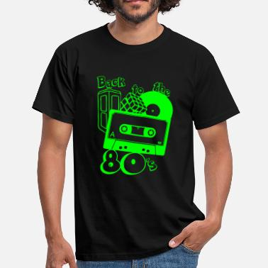 80er 80er , back to the 80s - Männer T-Shirt