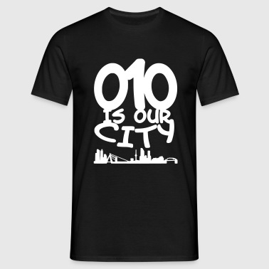 010 is our city - Mannen T-shirt