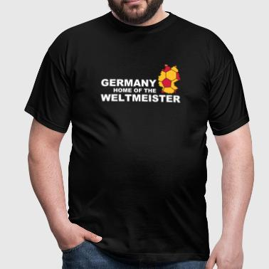 germany home of the weltmeister 2 - Men's T-Shirt