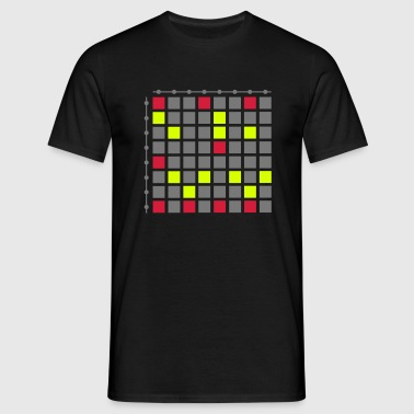 Touch Pad live Controller DJ Step Sequencer EDM - Männer T-Shirt