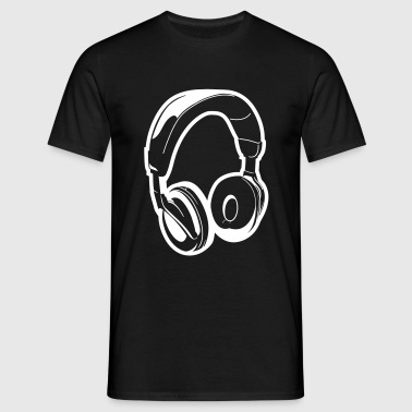 Headset - Mannen T-shirt
