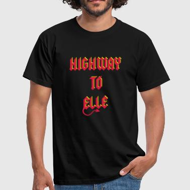 Highway To Elle Diablo 2C - T-shirt Homme