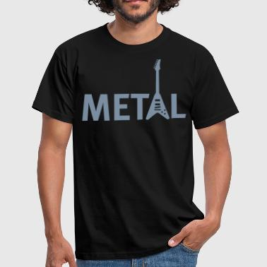 metal - Herre-T-shirt
