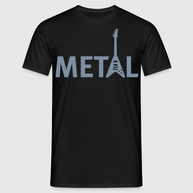metal - Mannen T-shirt