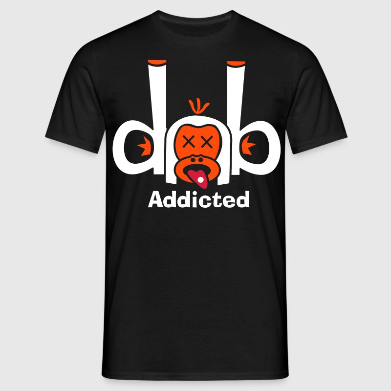 DnB Addicted - Männer T-Shirt