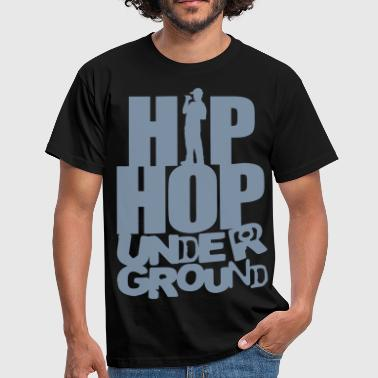 Hip_hop underground flex - Men's T-Shirt