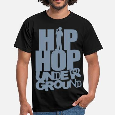 Hip Hip_hop underground flex - Men's T-Shirt
