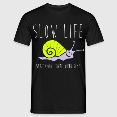 SLOW LIFE - T-shirt Homme