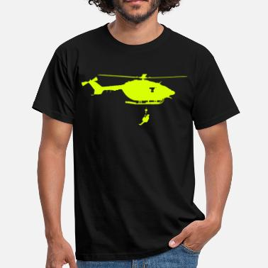 Helicopter helicoptere dragon - Männer T-Shirt