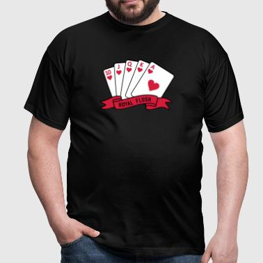 Royal Flush - Männer T-Shirt