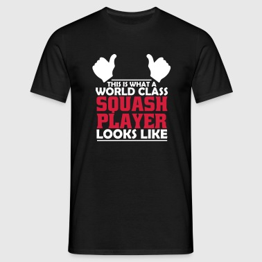world class squash player - Men's T-Shirt