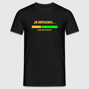 jE REFLECHIS design - T-shirt Homme