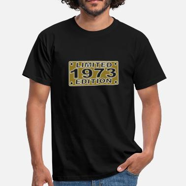 License Plate 1973_limited_edition - Men's T-Shirt