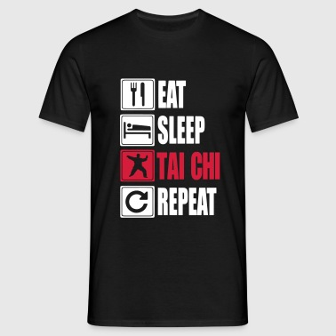 Eat-Sleep-Tai Chi-Repeat - Maglietta da uomo