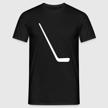 Ice hockey stick - Men's T-Shirt