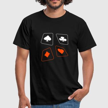 cartes - T-shirt Homme