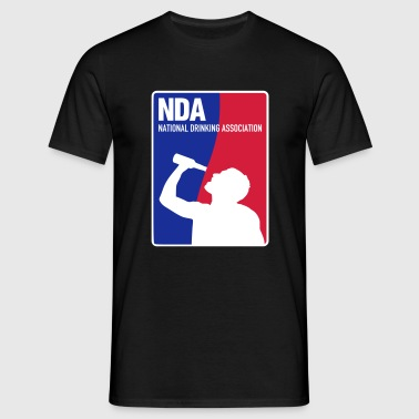 NDA National Drinking Association - Männer T-Shirt