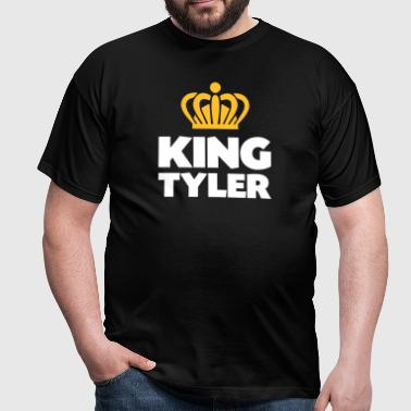 King tyler name thing crown - Men's T-Shirt