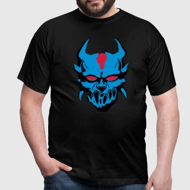 Demon with blue eyes - Men's T-Shirt