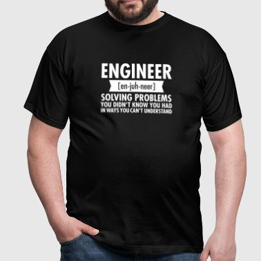 Engineer - Solving Problems - Camiseta hombre