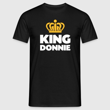 King donnie name thing crown - Men's T-Shirt