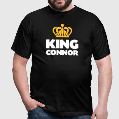 King connor name thing crown - Men's T-Shirt