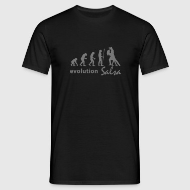 evolution_salsa - Men's T-Shirt
