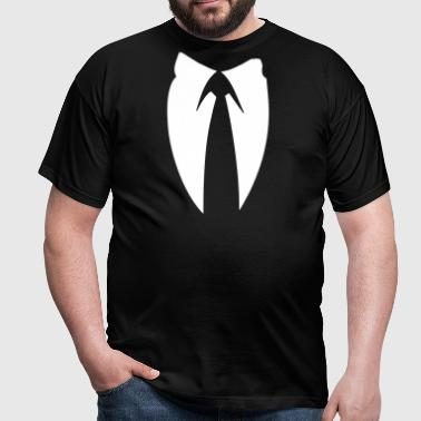 Anonymous Suite and Tie - Men's T-Shirt