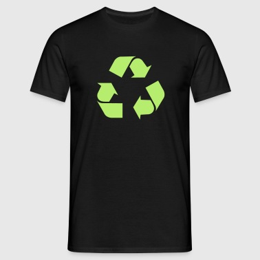 Recycle - Männer T-Shirt