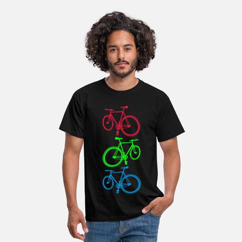 Sports T-shirt - Fixie - Herre T-shirt standard sort