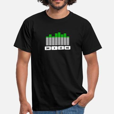Equalizer Equalizer audio player dj - T-shirt Homme